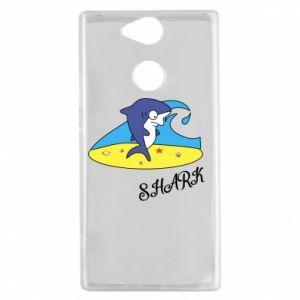 Etui na Sony Xperia XA2 Shark on the beach