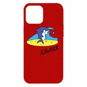 Etui na iPhone 12 Pro Max Shark on the beach
