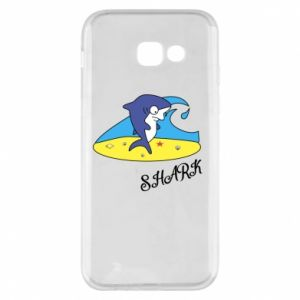 Etui na Samsung A5 2017 Shark on the beach