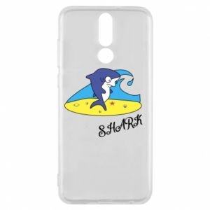 Etui na Huawei Mate 10 Lite Shark on the beach