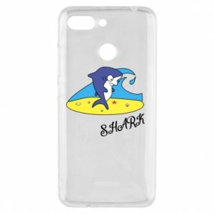 Etui na Xiaomi Redmi 6 Shark on the beach