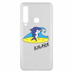 Etui na Samsung A9 2018 Shark on the beach
