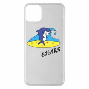 Etui na iPhone 11 Pro Max Shark on the beach