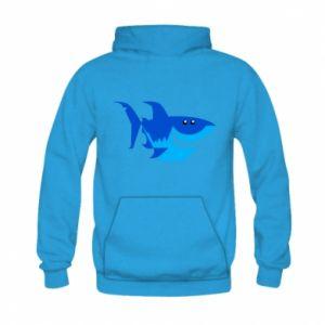 Bluza z kapturem dziecięca Shark smile