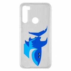 Etui na Xiaomi Redmi Note 8 Shark smile