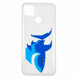 Etui na Xiaomi Redmi 9c Shark smile