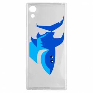 Etui na Sony Xperia XA1 Shark smile