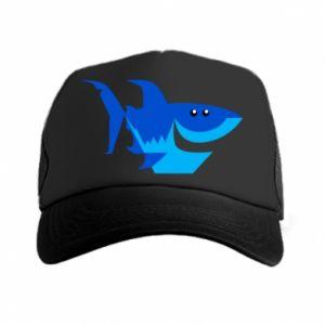 Czapka trucker Shark smile