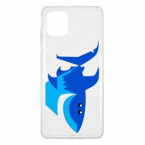 Etui na Samsung Note 10 Lite Shark smile