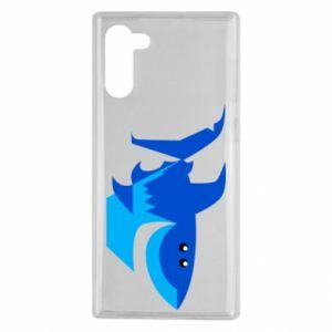Etui na Samsung Note 10 Shark smile