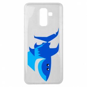 Etui na Samsung J8 2018 Shark smile