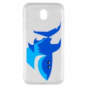 Etui na Samsung J7 2017 Shark smile