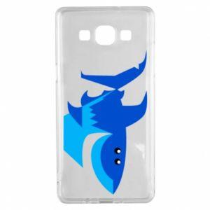 Etui na Samsung A5 2015 Shark smile