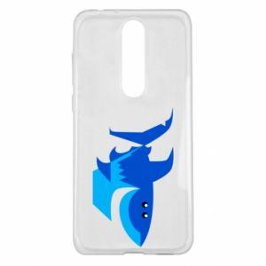 Etui na Nokia 5.1 Plus Shark smile
