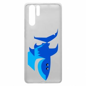 Etui na Huawei P30 Pro Shark smile