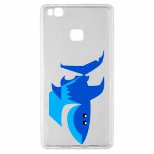 Etui na Huawei P9 Lite Shark smile
