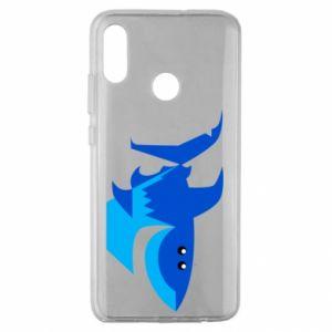 Etui na Huawei Honor 10 Lite Shark smile