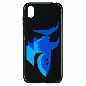 Etui na Huawei Y5 2019 Shark smile