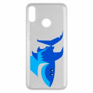 Etui na Huawei Y9 2019 Shark smile