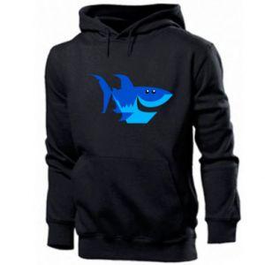 Bluza z kapturem męska Shark smile