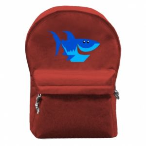 Plecak z przednią kieszenią Shark smile