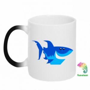 Kubek-magiczny Shark smile