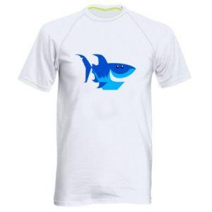 Koszulka sportowa męska Shark smile
