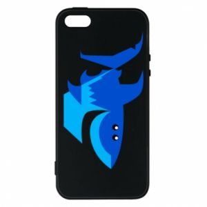 Etui na iPhone 5/5S/SE Shark smile