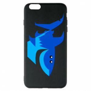 Etui na iPhone 6 Plus/6S Plus Shark smile