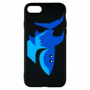 Etui na iPhone 7 Shark smile