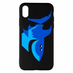Etui na iPhone X/Xs Shark smile