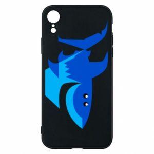 Etui na iPhone XR Shark smile
