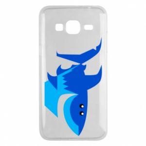 Etui na Samsung J3 2016 Shark smile