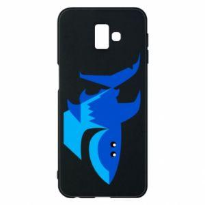 Etui na Samsung J6 Plus 2018 Shark smile