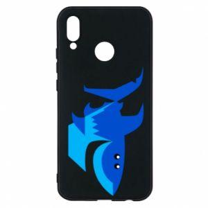 Etui na Huawei P20 Lite Shark smile