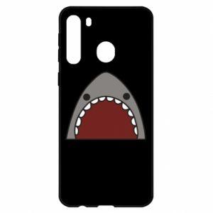 Samsung A21 Case Shark