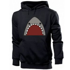 Męska bluza z kapturem Shark