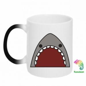 Kubek-kameleon Shark