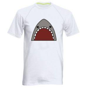 Męska koszulka sportowa Shark
