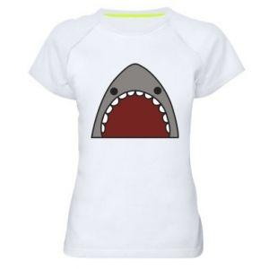 Damska koszulka sportowa Shark