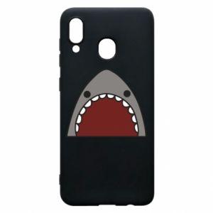 Etui na Samsung A20 Shark