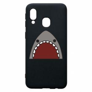 Etui na Samsung A40 Shark
