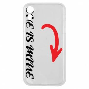 Phone case for iPhone XR She is mine