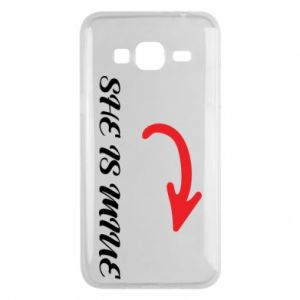 Phone case for Samsung J3 2016 She is mine