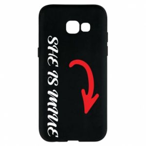 Phone case for Samsung A5 2017 She is mine