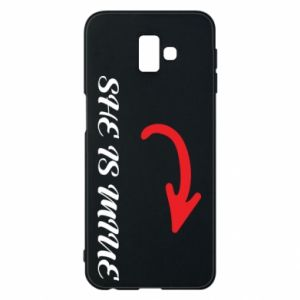 Phone case for Samsung J6 Plus 2018 She is mine