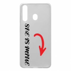 Phone case for Samsung A60 She is mine