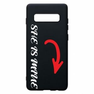 Phone case for Samsung S10+ She is mine