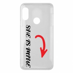 Phone case for Mi A2 Lite She is mine