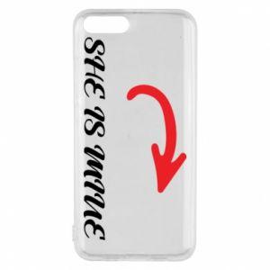 Phone case for Xiaomi Mi6 She is mine